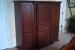 Mahogany armoire